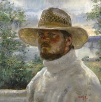 Selfportrait With A Hat, 2007